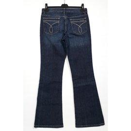 Calvin Klein-Calvin Klein Flare Jeans Taille W28 pattes d'elephants-Bleu