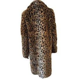 Erdem-Manteaux, Vêtements d'extérieur-Marron,Noir