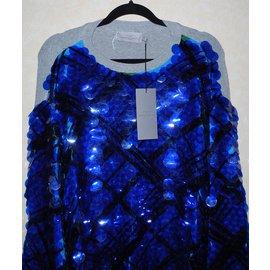 Preen By Thornton Bregazzi-Tricots-Bleu,Gris