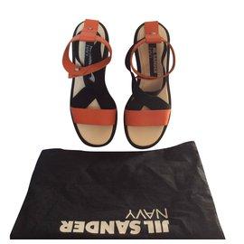 Jil Sander-JIL SANDER NAVY-Noir,Orange