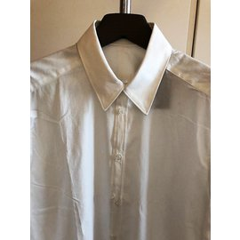 Costume National-COSTUME NATIONAL CHEMISE BLANCHE POUR HOMME-Blanc
