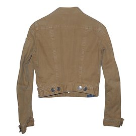 Dsquared2-Vestes-Marron clair