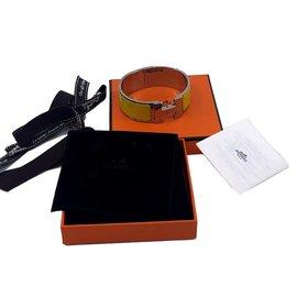 Hermès-Clic H-Jaune