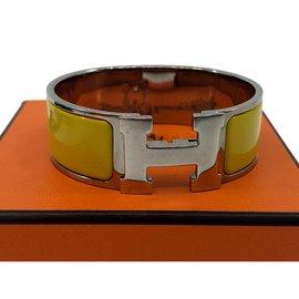 Hermès-Clique H-Amarelo