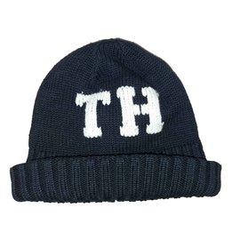 Tommy Hilfiger-Bonnets Bonnets Gants-Bleu Marine