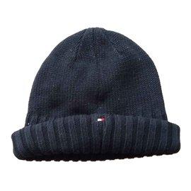 Tommy Hilfiger-Hüte Mützen Handschuhe-Marineblau