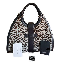 Gucci-Très joli sac à main léopard-Imprimé léopard