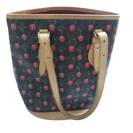 Louis Vuitton-Bucket cherry blossoms-Marron
