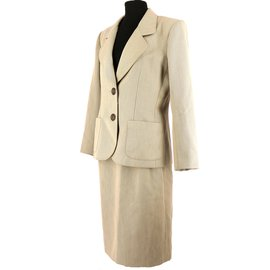 Yves Saint Laurent-Ensemble-Beige
