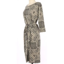 Max Mara-Robe-Multicolore