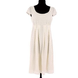 CAROLL-Robe-Blanc