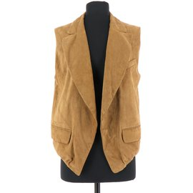 Bel Air-Gilet-Marron