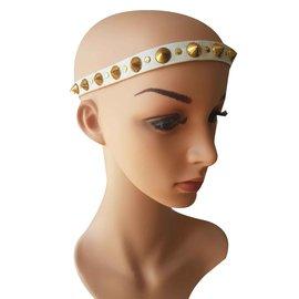 Autre Marque-Accessoires pour cheveux-Blanc,Doré