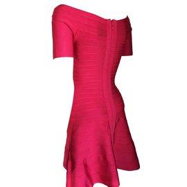 Herve Leger-Liza-Pink