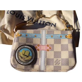 Louis Vuitton-mini pochette  knokke 2018-Multicolore