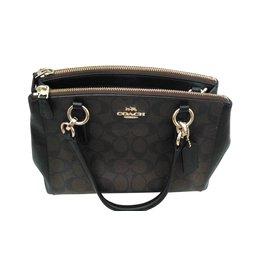 Coach-Handbags-Dark brown