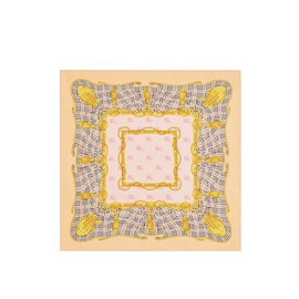 Burberry-Square silk scarf-Multiple colors