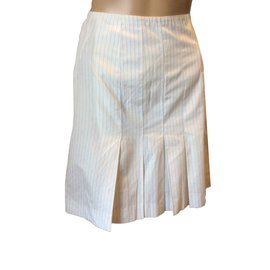 Chanel-Chanel vintage skirt-White