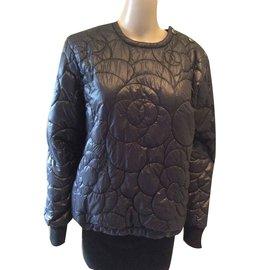 Chanel-Chanel coco neige jacket-Black