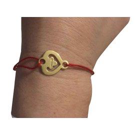 Autre Marque-coeur légende pour bracelet cordon OJ PERRIN-Doré