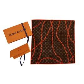 Louis Vuitton-MP2314-Orange,Marron foncé