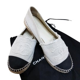 Chanel-Mocassins Chanel-Beige