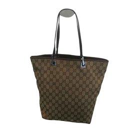 Gucci-Handtaschen-Braun