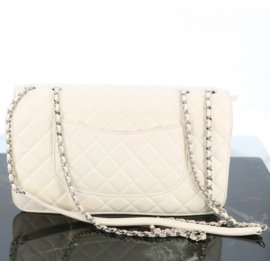 Chanel-Chanel Timeless Soufflet-White