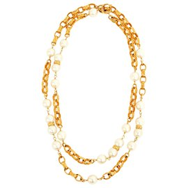 Chanel-HAUTE COUTURE QUILTED PEARLS-Doré