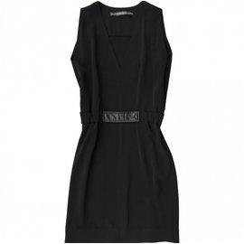 Balenciaga-BALENCIAGA BLACK DRESS-Black