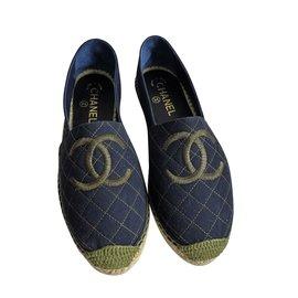Chanel-Espadrilles-Bleu