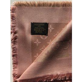 Louis Vuitton-Monogramme briller châle M78767-Rose
