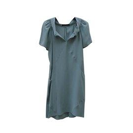 Balenciaga-Robes-Vert clair