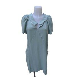 Balenciaga-Dresses-Light green
