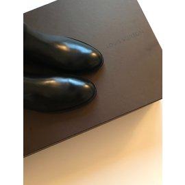 Louis Vuitton-Bottes Héritage-Noir