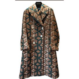 Gucci-Manteau-Bronze