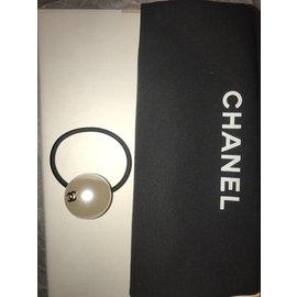 Chanel-Accessoires pour cheveux-Blanc