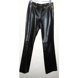 Céline-Pantalons, leggings-Chocolat