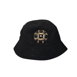 Chanel-Chanel hat-Black