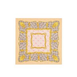 942bd8c906b Burberry-Foulard en soie-Multicolore ...