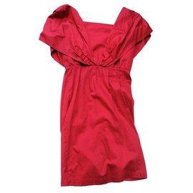 Thierry Mugler-Mythical Mugler dress!-Red