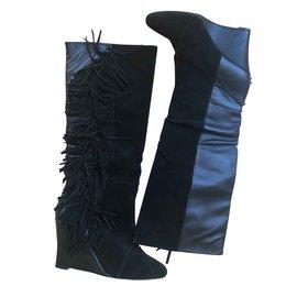 Isabel Marant-Boots-Black