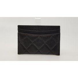Chanel-Card case-Black