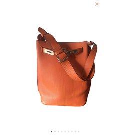 Hermès-So Kelly-Orange