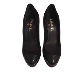 Chanel-Chanel escarpins-Noir