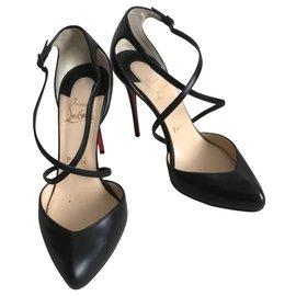 Christian Louboutin-Louboutin enfer chaussures-Noir