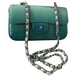Chanel-Bolsas-Turquesa
