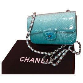 Chanel-Sacs à main-Turquoise
