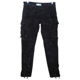 Faith Connexion-Pantalons, leggings-Noir