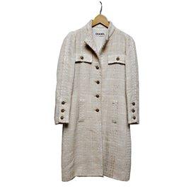 Chanel-Coat-Beige
